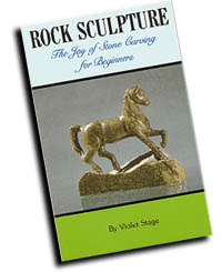 Rock Sculpture Book -  In Stock order now for immediate shipping!
