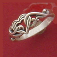 Sterling silver vintage scroll rings and more filigree designed rings to choose from...