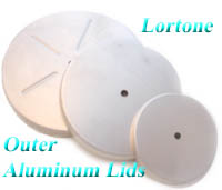 Lortone(c) Rotary Tumblers - metal replacement outer lids. In Stock - Order NOW!